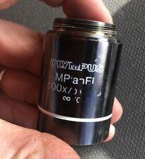 Olympus MPlanFL 100X/0.90 BD  Microscope Objective Lens