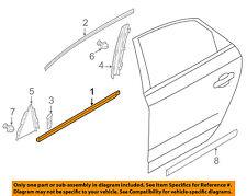VW VOLKSWAGEN OEM Rear Window/Door-Belt Molding Weatherstrip Left 561839477A5AP