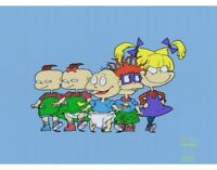 RUGRATS Limited Edition Cel Sericel Nicktoons Animation Art Studio Authorized