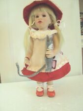 Goetz Doll Nella with Kitty Cat from Germany Limited Edition