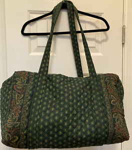 VERA BRADLEY Classic greenRETIRED Travel Duffel Bag Classic Green