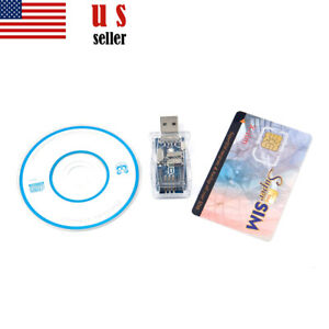USB 16in1 Sim card Reader Writer Copy Cloner Backup Recovery Kit Adapter