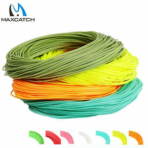 Maxcatch Floating Fly Fishing Line Weight Forward 100FT WF1/2/3/4/5/6/7/8/9/10WT