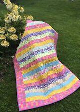 Quilt (Patchwork) Modern Pineapple Baby / Toddler Blanket 100% Cotton  CRIB SIZE