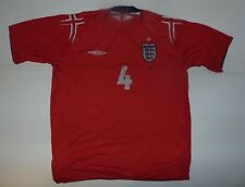 England 2004-06 away football shirt. World Cup xl mens