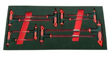 Britool Hallmark 8 pezzi esagonale a Brugola Impugnatura T chiave set di in
