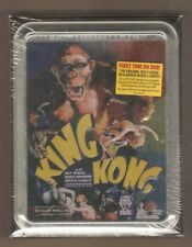 KING KONG 1933 Collector's Edition Tin NEW DVD 3 MOVIES SON OF, MIGHTY JOE YOUNG