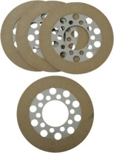Alto Clutch Plate Kit with Kevlar Harley EL FL Duo-Glide Knucklehead Panhead FLH