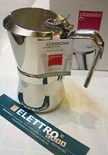 Caffettiera Giannini Giannina da 1 Tazza in Acciaio Caffè ORIGINALE la Classica