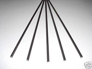 10 Stück Rundeisen 4,0 mm Durchmesser 1500 mm lang