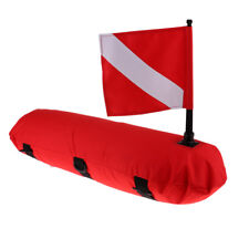 High Visibility Surface Marker Buoy, Dive Flag for Scuba Diving Spearfishing