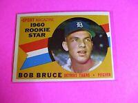 1960 TOPPS baseball Set Break #118 Bob Bruce Tigers, NmMt High Grade