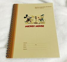 New listing Sun Star Japan, Disney Mickey Mouse and Donald Duck Spiral Notebook, Ruled Lined