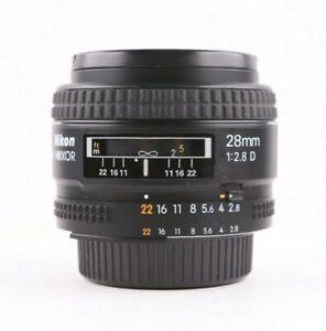 Nikon NIKKOR 28mm f2.8D CRC AF SIC Lens