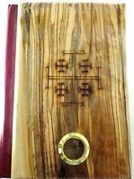 Santa Biblia con tapas de olivo de Nazaret - Israel. Reina Valera 60