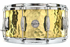 Gretsch Full Range Hammered Brass Snare Drum 14x6.5 - Video Demo