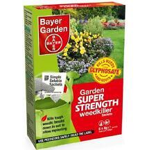 Bayer Super Strength Glyphosate 6 Sachet Weed Killer Very Strong Weedkiller 1st