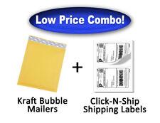 New Listingsize2 Bubble Mailer 85x11 100 100 200 200 Bonus Paypal Labels 85x55