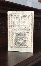 Malleus Maleficarum Editio Limited