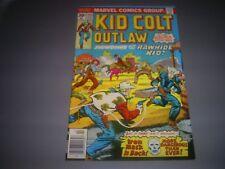 "KID COLT OUTLAW # 215 (FEB 1977 MARVEL) 8.0 VF ""SHOWDOWN WITH THE RAWHIDE KID!"""