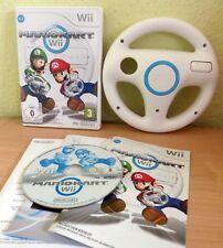 Nintendo Spiel Mario Kart Wii + ORIGINAL Wheel Cart Lenkrad ★1A Zustand ✔