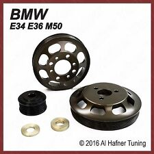 BMW E34 E36 M50 Underdrive Pulley Kit