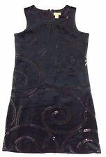 Children Place Velvet Dress Black 8 NWT
