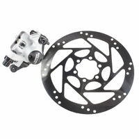 Shimano Nexave BR-601 Disc Brake Caliper with 160mm Rotor Silver/Black
