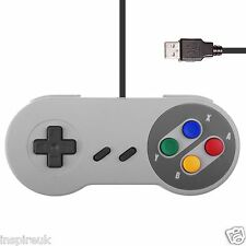 usb pc juegos retro mando para juegos snes Estilo Pad