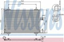 New Condenser air conditioning for CITROEN-PEUGEOT 94534 Nissens Top Quality