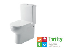 Gallaria Carnival Back to Wall Toilet Suite Metro Std 60-160mm Set Out White