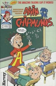 Alvin and the Chipmunks #3 VF 8.0 1993 Stock Image