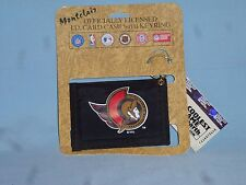 OTTAWA SENATORS  Nylon I.D. CARD CASE with KEYRING  Set of 3   New!  by Rico