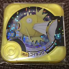 ot S4 Pokemon Figure Shiny Magikarp Tretta Card Gold Color (Limited) .