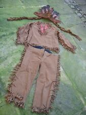 19th early 20th century child teenage Indian costume