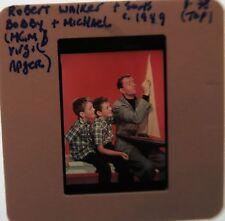 ROBERT WALKER SONS BOBBY MICHAEL 1949 Strangers on a Train The Clock SLIDE 1
