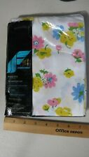 Fieldcrest Pillowcases NIP NOS Floral Pattern 50/50