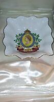 "ROSINA Bone China ""Coronation Of Her Majesty"" Queen Elizabeth II 1953 VTG Dish"