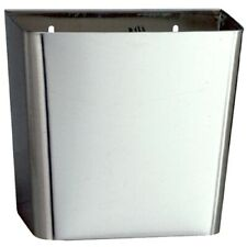 Bobrick B-261 Stainless Steel Surface-Mounted Facial Tissue Waste Receptacle