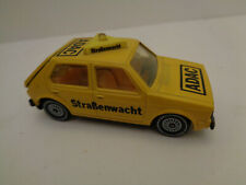 VINTAGE VW Golf  ADAC Straßenwacht Siku Art.Nr.1312/1033 Made in W.-Germany