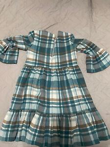 il Gufo Green Dress 4 Years