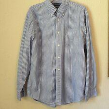 Nautica mens long sleeve dress shirt. Size L