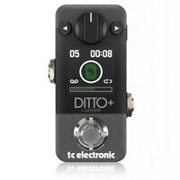 TC Electronic Ditto+ Looper Pedal - 60-minute, Multi-session Looper Pedal