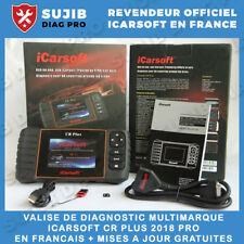 Interface de diagnostique Auto multimarque pro OBD OBD II - Icarsoft CR PLUS