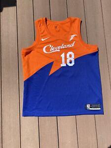 Matthew Dellavedova Cleveland Cavaliers Navy Blue NIKE Swingman Jersey Xl 52 90s