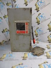 CUTLER HAMMER DH361FGK 30 A 600 V 20 HP 3 POLE TYPE 1 NON-FUSIBLE SAFETY SWITCH