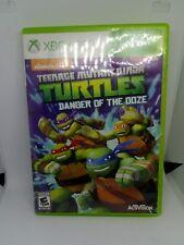 Teenage Mutant Ninja Turtles Damge Of The Ooze Xbox 360 Replacement Case