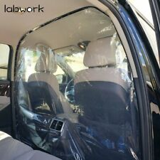 Taxi Car Partition Divider Sneeze Guard Film Protective Virus Shield