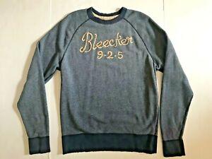 New RUEHL No 925 Bleecker Navy Crewneck Sweatshirt XXL Rare Free Ship
