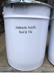 ANTHRACITE Acrylic Roof And Tile Paint 5 Lts CHEAPEST ON EBAY